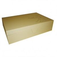 Wedding Box - Gold